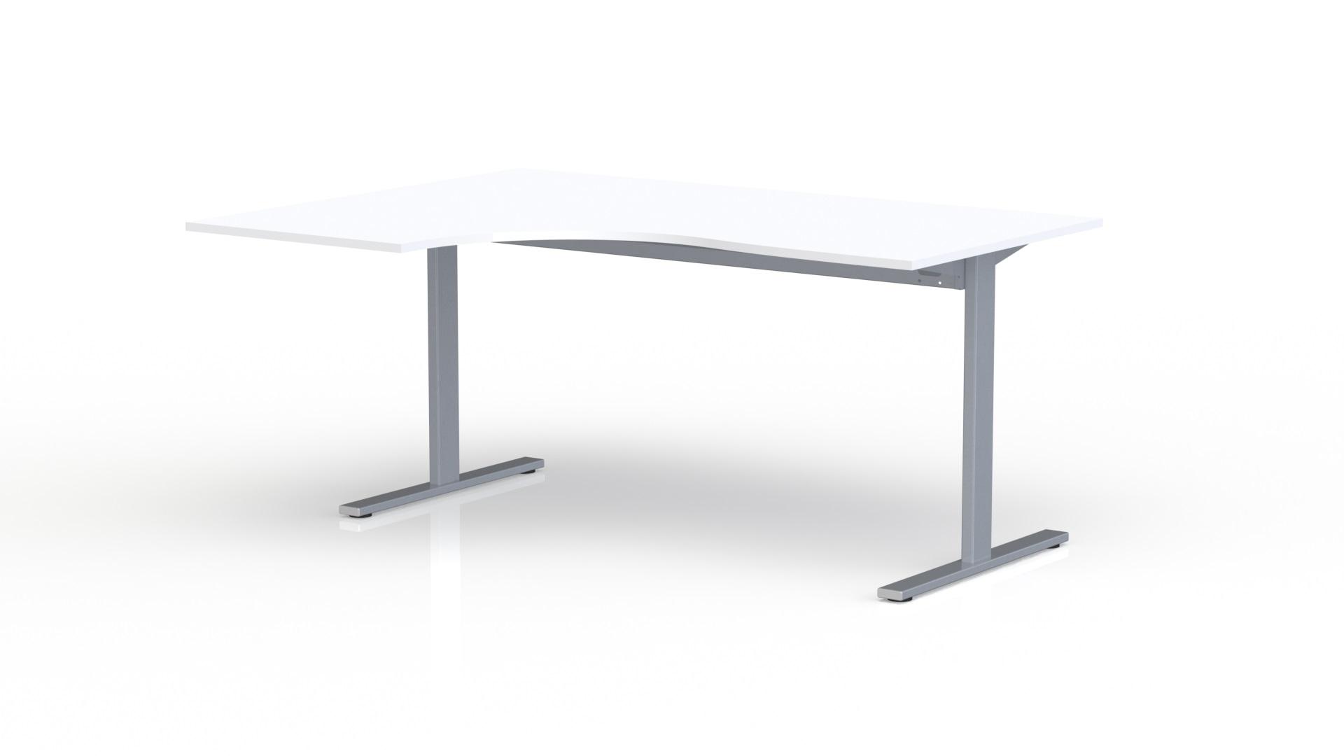 bureau compact asym trique 90 l 160 cm maxoffice32 mobilier de bureau am nagement salle. Black Bedroom Furniture Sets. Home Design Ideas